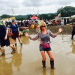 Being on foot at Glastonbury
